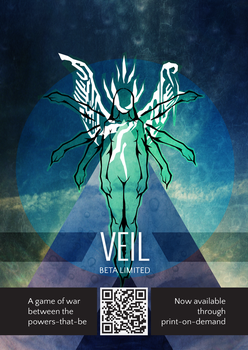 Veil limited beta flyer by Vitku