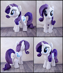 Large Rarity Plush by SewYouPlushieThings