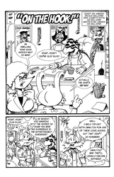 Hip Hop page 001 - Black and Whites by CartoonistWill