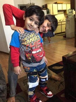 My Crazy Awesome Brothers(Big-ShahzaibSmall-Shahi) by Dr-Strange-Is-Me