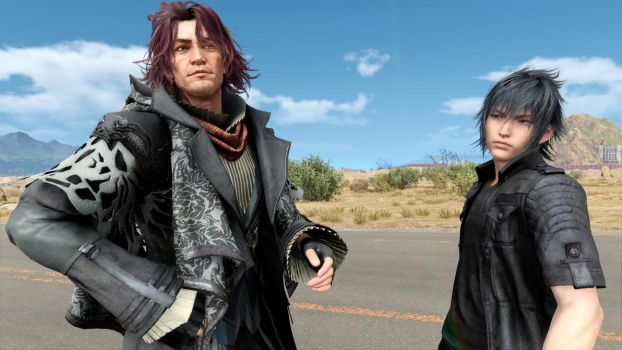 Final Fantasy XV Noctis and Ardyn by SNColors