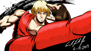 Ken Edayan Style colored by EnlightendShadow