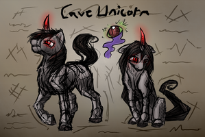 Cave Unicorns - Lost Research by Wolframclaws