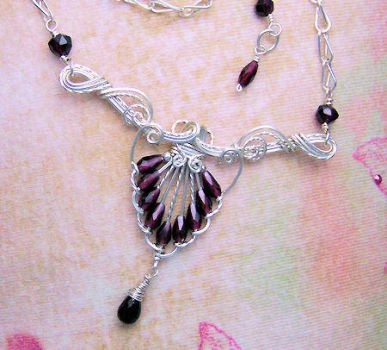Victorian Mystery Necklace by Wiresculptress