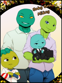Boss Baby... Mikey! by KameBoxer