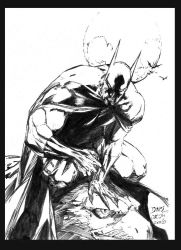 Batman by Ed Benes - Inked by teutelquessir