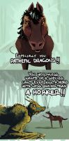 The Dragonborn Gallops 3. by kuoke