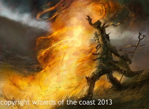 Pillar of Fire by Dave-Kendall