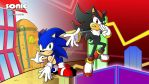 stco 260 Sonic and Shadow wallpaper
