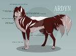 Ardyn Reference Sheet Commission by hannibalzstag