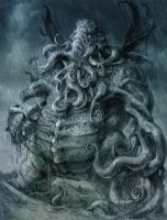 Cthulhu THE GREAT ONE by TheGurch