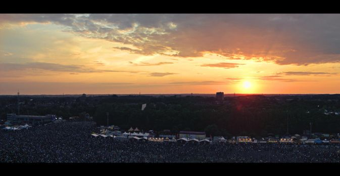 Pinkpop Sunset by alex16