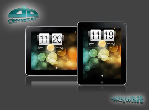 iPad HTC Lockscreen by peteywhit
