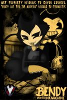 Bendy and the Ink Machine - Umbra as Bendy by PlayboyVampire