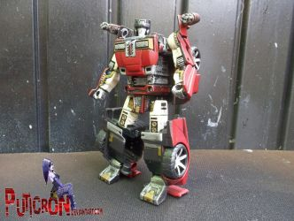 transformers twisted metal crossover sideswipe, cr by puticron