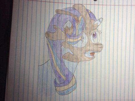 Starlight Glimmer mask transformation part 3 by bsb15