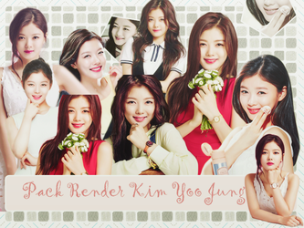 Pack Render Kim Yoo Jung CF by Windie2k1