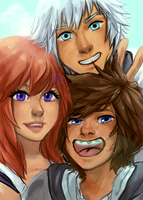 riku you're barely in the shot by Cicre