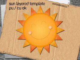 Sun Layered Template by slavetofashion69