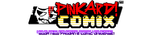 Pinkard Comix Site relaunch ...kinda by andehpinkard