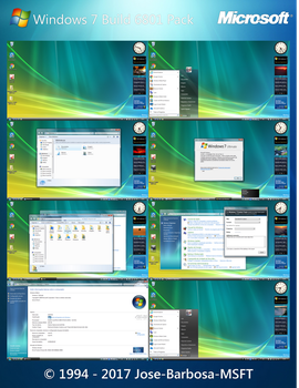 Windows 7 Build 6801 Pack Final by Jose-Barbosa-MSFT