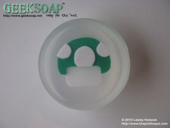 1up Mushroom GEEKSOAP Soap by pinktoque