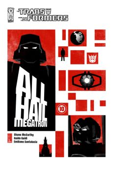 All Hail Megatron Cover 10 by trevhutch