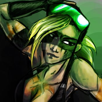 Green Goggles - Part 3 by QueenCordite