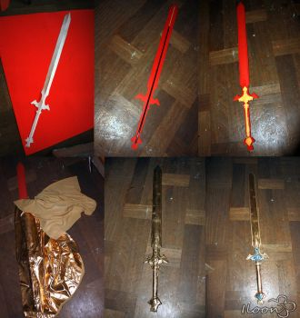 Excalibur Foam Sword Tutorial by Iloon-Creations