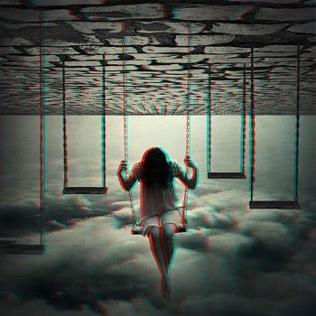 Surreal Swing set 3-D conversion by MVRamsey