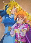 Lina and Gourry by elfaba1993