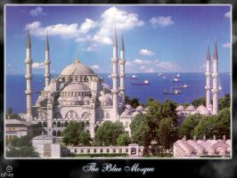 The Blue Mosque, Istanbul by OneKursat