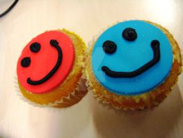 Smiley Cup Cakes by jonathanvarela