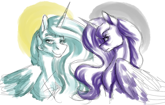 The Sisters by FullmoonDagger