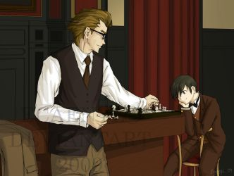 Baccano: Languid Afternoon by Ecaenyl