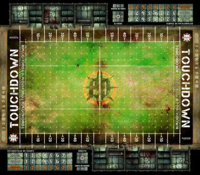 BLOOD BOWL BOARD GAME by LANZAestudio