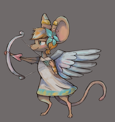 Cupid Mouse by Vullo