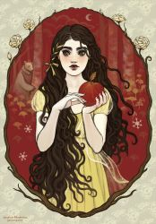 Snow White by JanainaArt