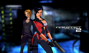 Fear Effect Retro Helix - Wallpaper Montage by LitoPerezito