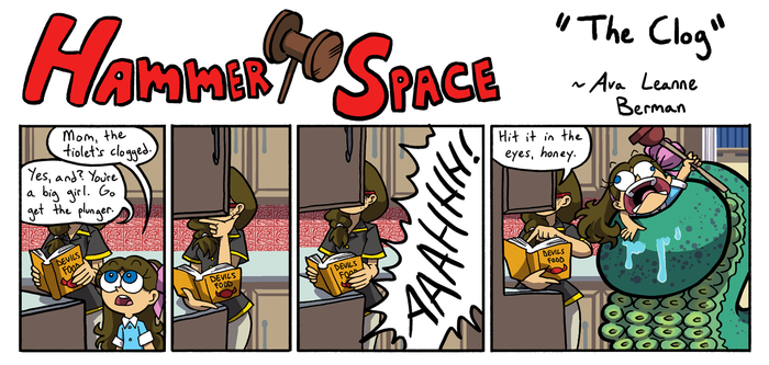 Hammer Space: The Clog by ABwingz