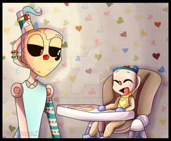 Cuphead NG:Young Dad by AnnaDreamer24