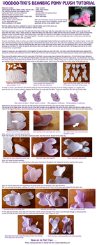 Beanbag Pony Plushie Tutorial - part 1 by Voodoo-Tiki