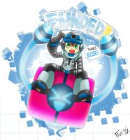Mighty No.9 completely funded by SaitoKun-EXE