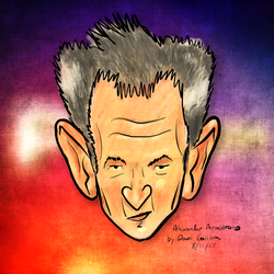 Alexander Armstrong Caricature by TheBigDaveC