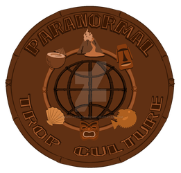 Paranormal Trop Culture Logo by Gonzocartooncompany