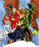Amalgam-Alpha Flight JLA by Needham-Comics