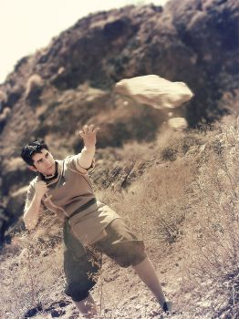 Bolin Cosplay - Earth Bending by Agam720