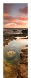 Rock Pools of a Rugged Coast by steampoweredk9