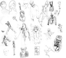 Sketches 2009 by AKsolut