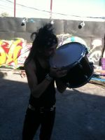 That drum isn't food, CC by BVBFanz